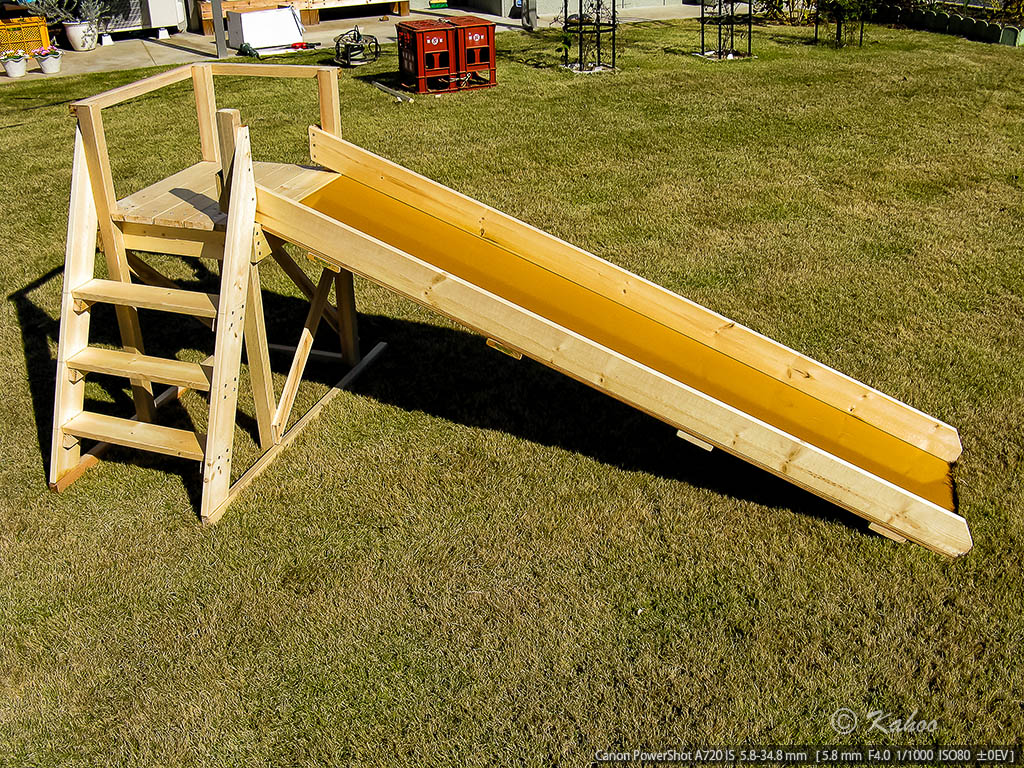 手作り 滑り台 ローラー滑り台のおしり対策!手作り段ボールや100均おすすめのグッズ